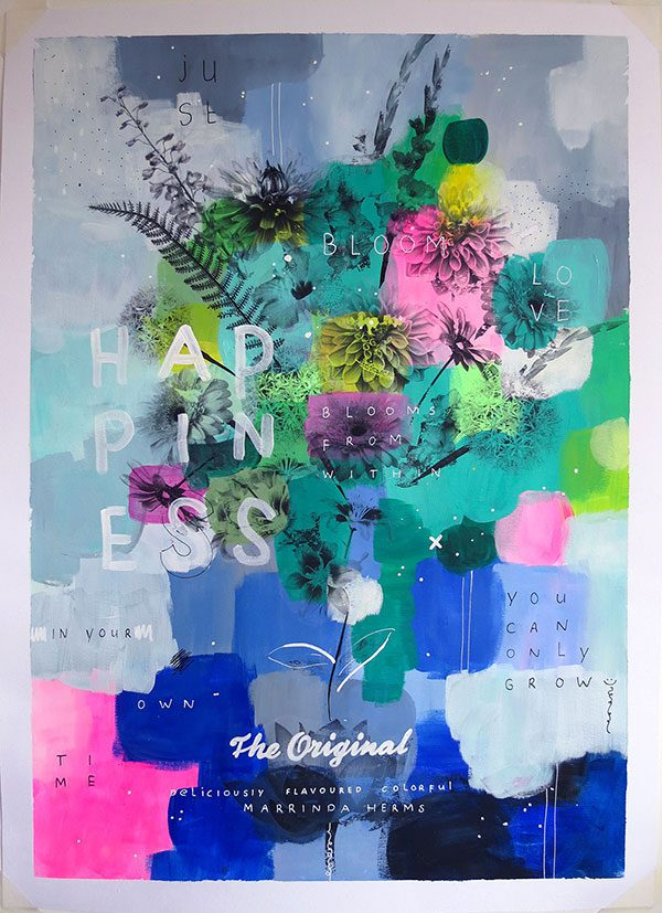 Bloom No2 | 50x70 cm by Marrinda Herms