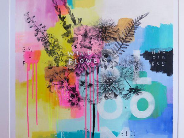 Wild flowers 50x70cm by Marrinda Herms